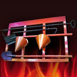 Пожарные щиты (стенды), ящики для песка